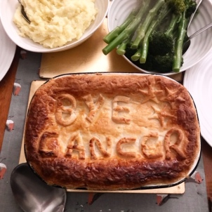 bye cancer pie